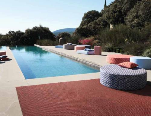 Patio i tappeti outdoor che nascono dal Pet