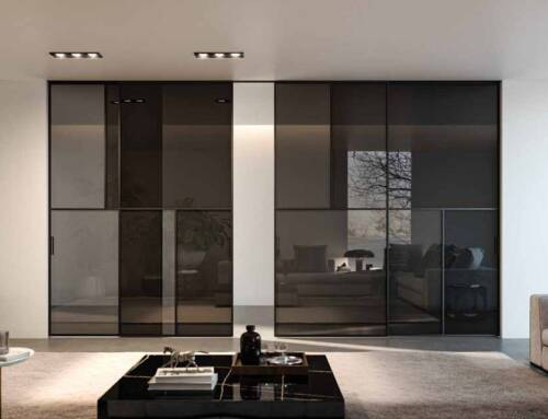 Decori stile '900 per le porte di Céline by Albed