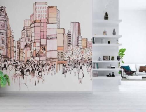 Il wallpaper che racconta le nostre emozioni