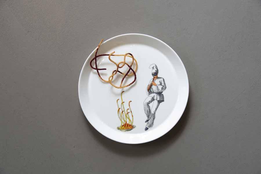 un piatto