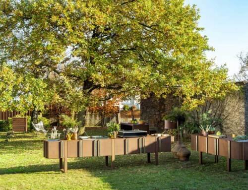 Arredare gli spazi esterni con Il Giardino di Corten