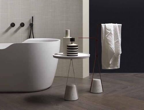 Piantane e tavolini accessori bagno multifunzione