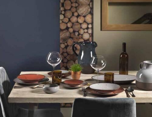Linea Cottege: i piatti in 12 colori