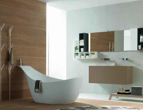 La romantica vasca da bagno free standing